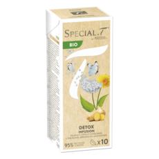 SPECIAL T Capsules d'infusion bio détox, pissenlit ortie gingembre 10 capsules 23g