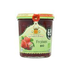 LES COMTES DE PROVENCE Confiture de fraises bio 350g