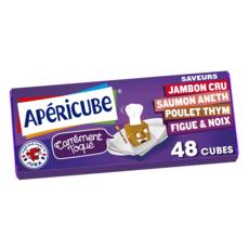 APERICUBE Cubes de fromage apéritif Carrément Toqué 48 cubes 250g