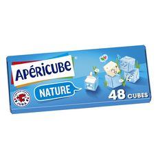APERICUBE Cubes de fromage apéritif Nature 48 cubes 250g