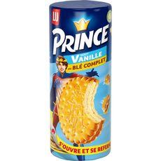 PRINCE Biscuits fourrés goût vanille au blé complet 300g