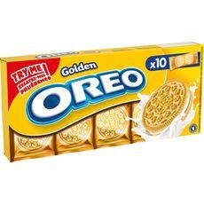 OREO Biscuits golden nature, sachets fraîcheur 10x2 biscuits 220g