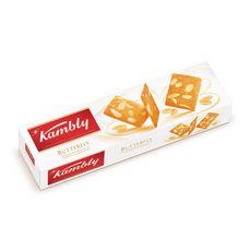 KAMBLY Butterfly biscuit au beurre extra-fin et amandes effilées 100g