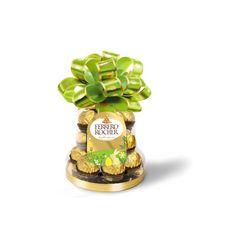 FERRERO Rocher fines gaufrettes chocolat lait et noisettes Cloche 16 chocolats