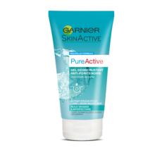 GARNIER PureActive gel désincrustant anti-points noirs peaux grasses à problèmes 150ml