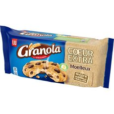 GRANOLA Cookies cœur extra moelleux chocolat 182g