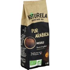 NATURELA Café moulu bio pur arabica 1kg