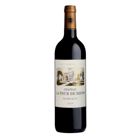 SANS MARQUE AOP Margaux Château La Tour de Mons rouge 2018