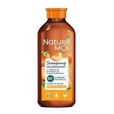 NATURÉ MOI Shampooing nourrissant abricot & argan bio cheveux secs 250ml