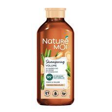 NATURÉ MOI Shampooing volume riz & miel bio cheveux fins & plats 250ml