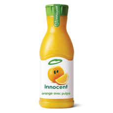 INNOCENT Pur jus d'oranges avec pulpe 90cl