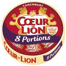 COEUR DE LION Camembert en portion 8 portions 240g