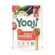 Yooji YOOJI Galets de purée de ratatouille bio dès 9 mois