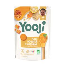 YOOJI Galets de légumes douceur d'automne bio dès 9 mois 480g