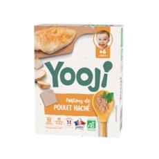 YOOJI Galets de poulet cuit bio dès 6 mois 12x10g