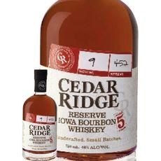 CEDAR RIDGE Bourbon whiskey Reserve Iowa 40% 70cl
