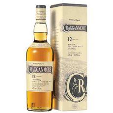 CRAGGANMORE Scotch whisky single malt ecossais Speyside 40% 12 ans 70cl