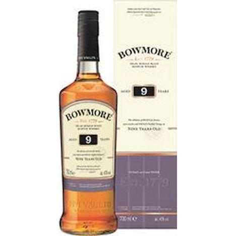 BOWMORE Scotch whisky single malt 40% 9 ans