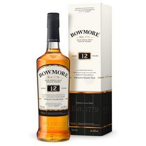 BOWMORE Scotch whisky single malt Bowmore 40% 12 ans