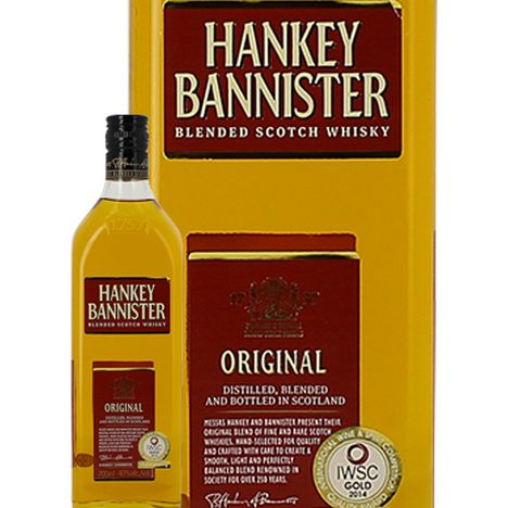 HANKEY BANNISTER Scotch whisky blended malt Hankey Bannister 40%