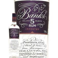 BANKS Rhum blanc 43% 5 ans 70cl