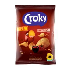 CROKY Chips saveur ketchup 175g