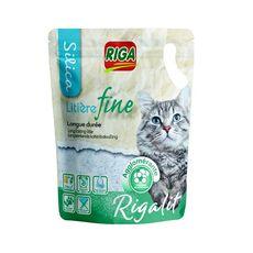 RIGA Riga'lit litière silice fine et agglomérante pour chat 4l