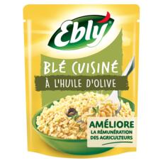 EBLY Blé précuit cuisiné à l'huile d'olive 220g
