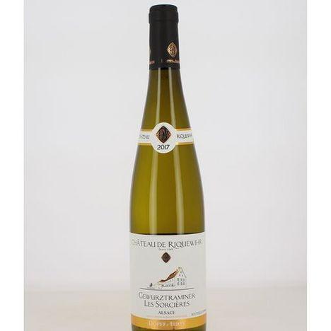 SANS MARQUE AOP Alsace Gewurztraminer Alsace Château de Riquewihr Les Sorcières 2017 blanc