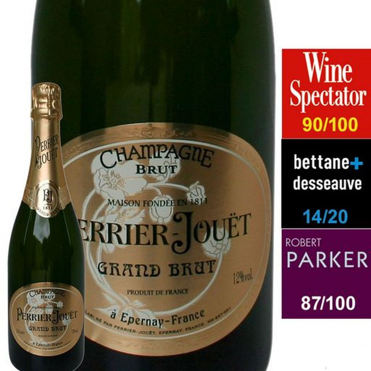 AOP Champagne Perrier Jouet Grand Cru