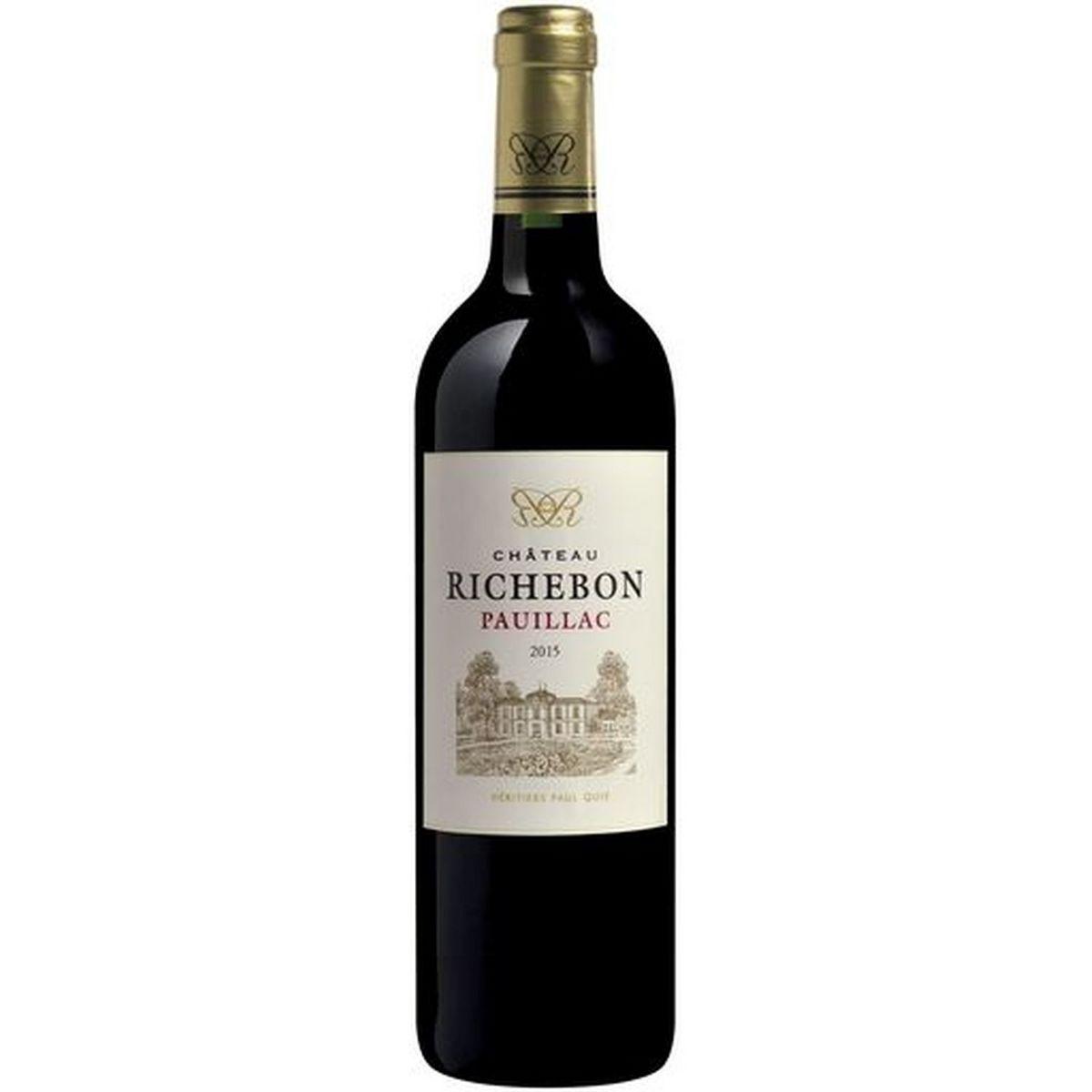 AOP Pauillac Château Richebon rouge 2015