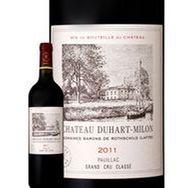 SANS MARQUE AOP Pauillac Grand Cru Classé Château Duhart Milon rouge 2011