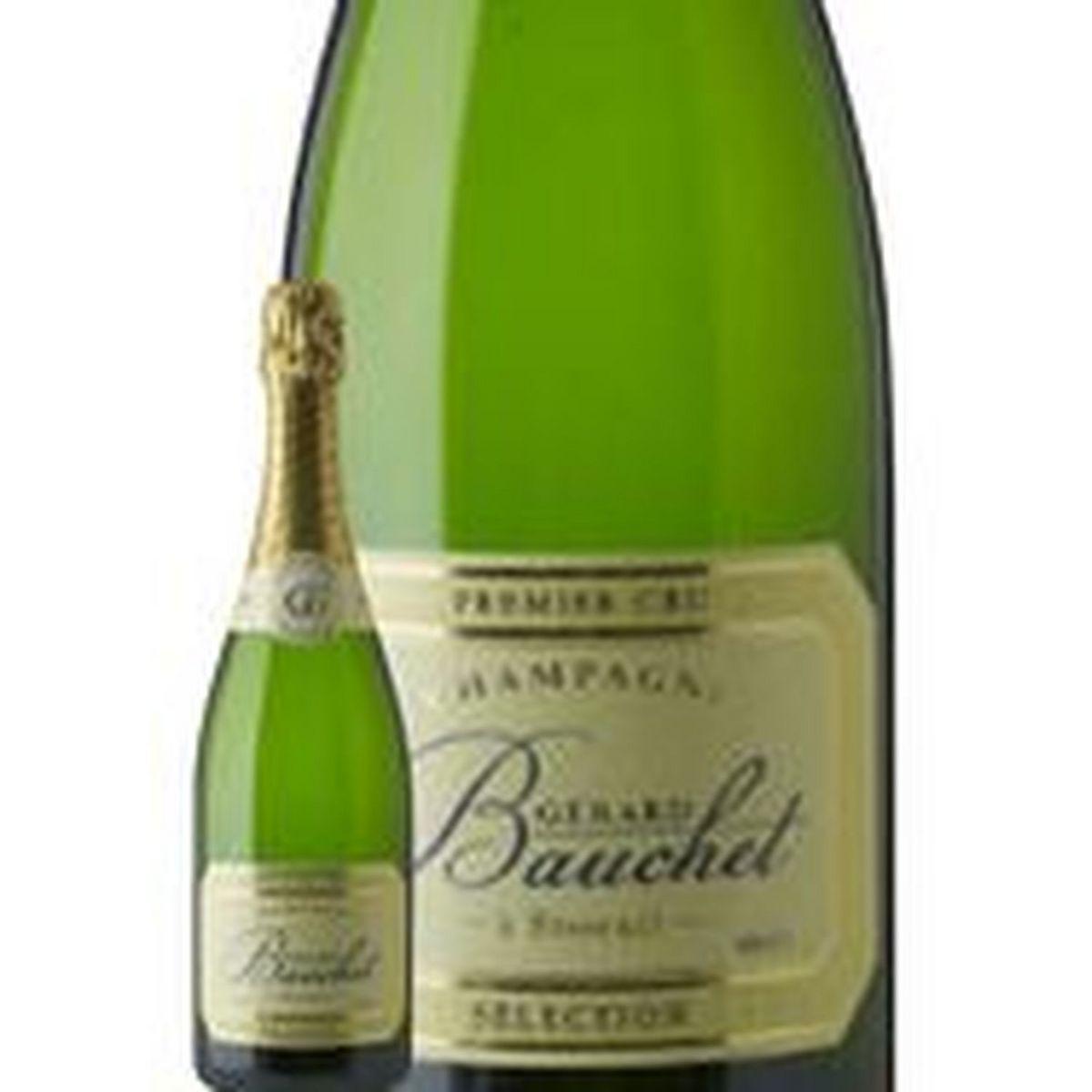 AOP Champagne Brut 1er Cru Cuvée Sélection Gérard Bauchet blanc