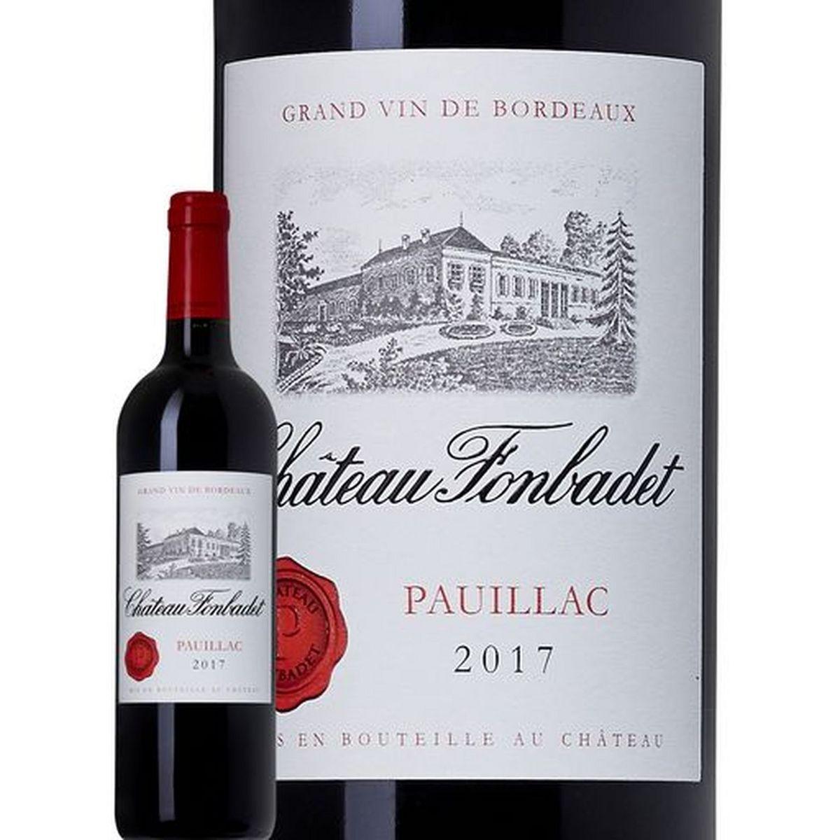 AOP Pauillac Château Fonbadet Cru Bourgeois rouge 2017