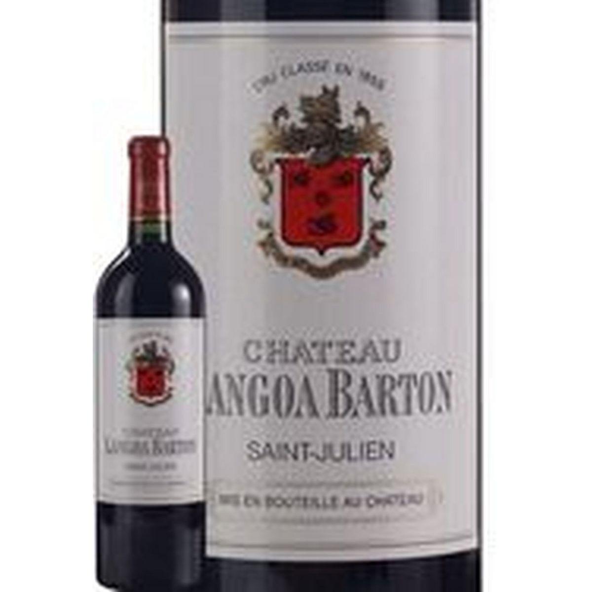 AOP Saint-Julien Château Langoa Barton grand cru classé rouge 2015