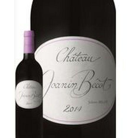 SANS MARQUE AOP Côtes-de-Bordeaux Château Joanin Bécot rouge 2014