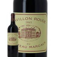 SANS MARQUE AOP Margaux Pavillon rouge du Château Margaux Second Vin rouge 2015