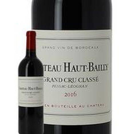 SANS MARQUE AOP Pessac-Leognan Château Haut Bailly rouge 2016