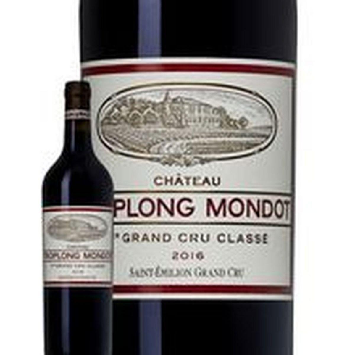 AOP Saint-Émilion grand cru Château Troplong Mondot rouge 2016