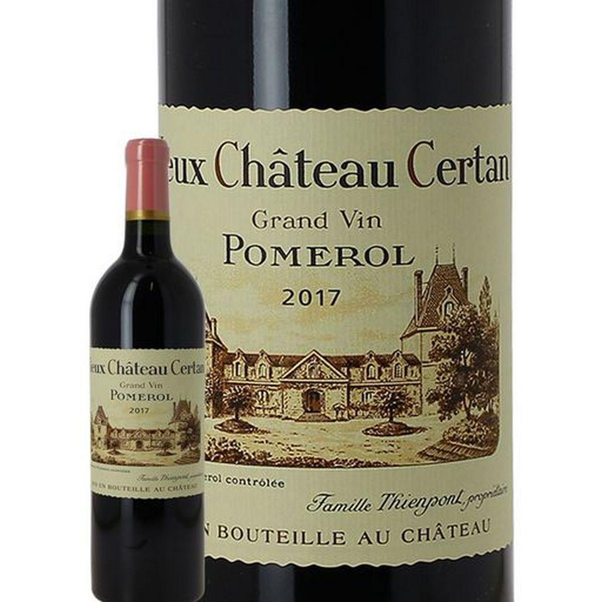 AOP Pomerol Vieux Château Certan rouge 2017
