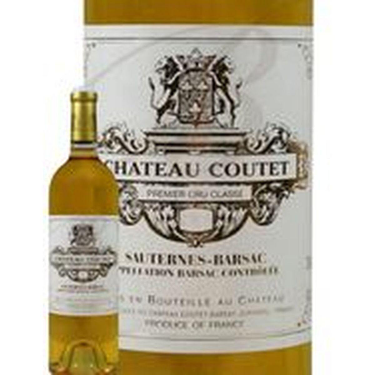 AOP Sauternes-Barsac Château Coutet blanc premier cru classé