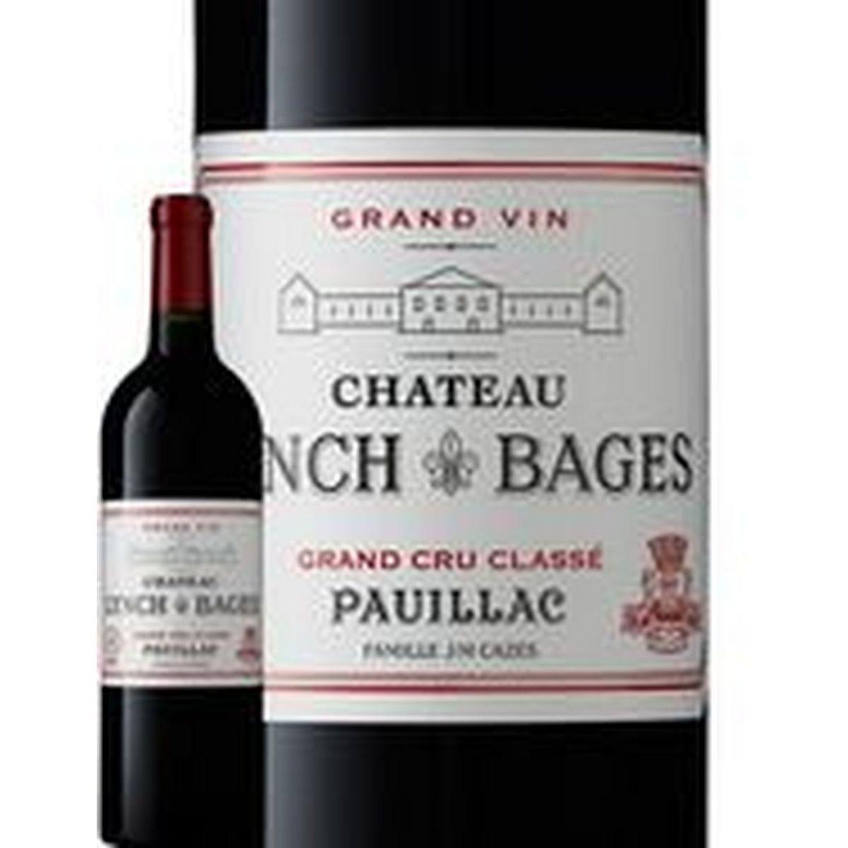 AOP Pauillac Château Lynch Bages grand cru classé rouge 2017