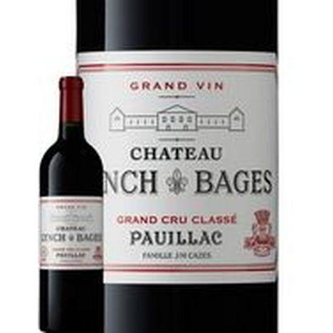 SANS MARQUE AOP Pauillac Château Lynch Bages grand cru classé rouge 2017