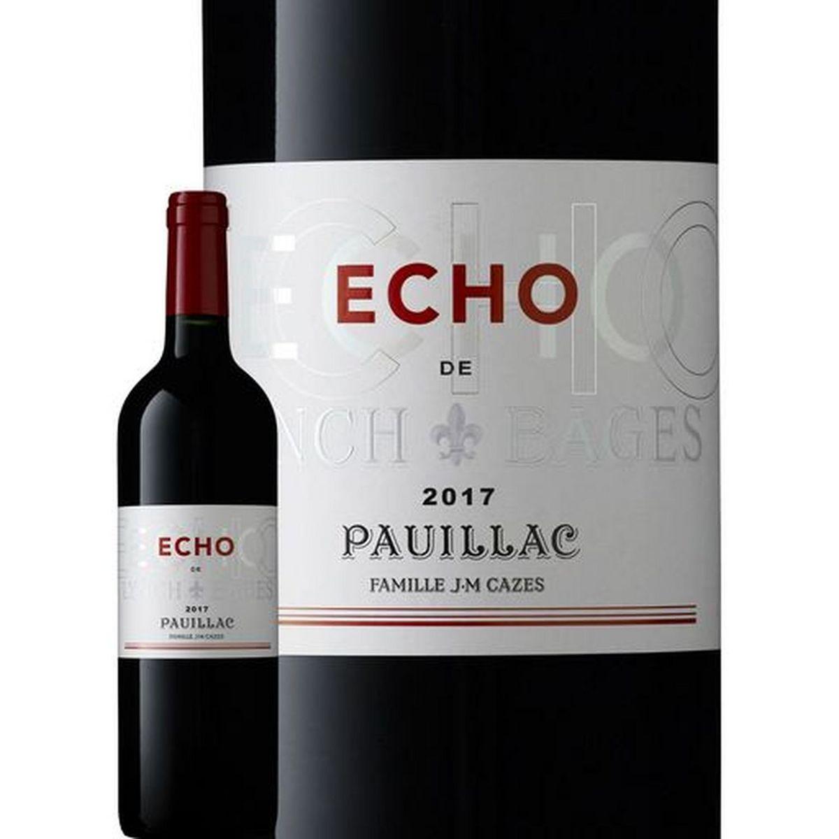 AOP Pauillac Echo de Lynch Bages second vin rouge 2017