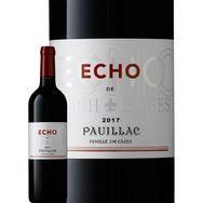 SANS MARQUE AOP Pauillac Echo de Lynch Bages second vin rouge 2017