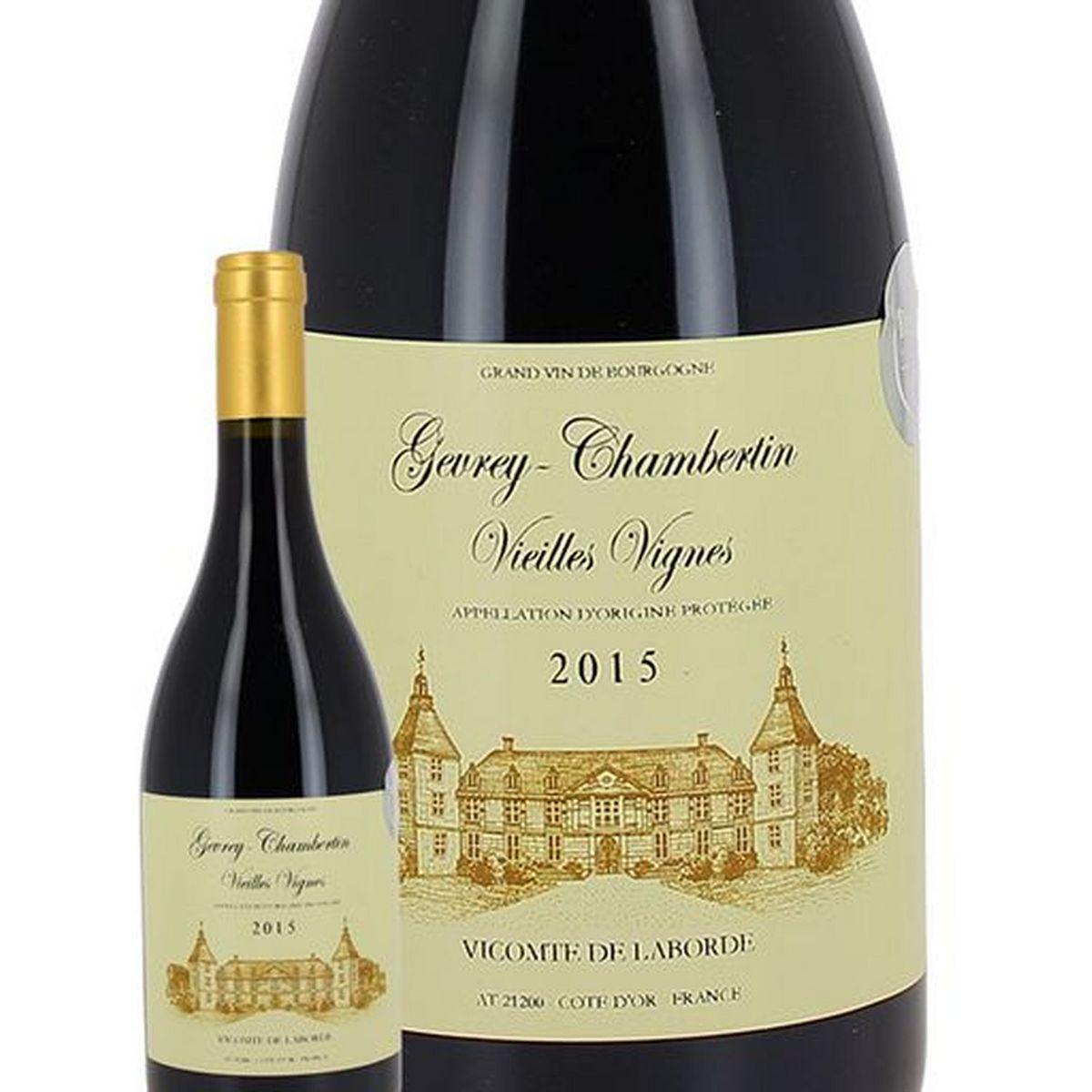 AOP Gevrey-Chambertin Vieilles Vignes Vicomte de Laborde rouge 2015