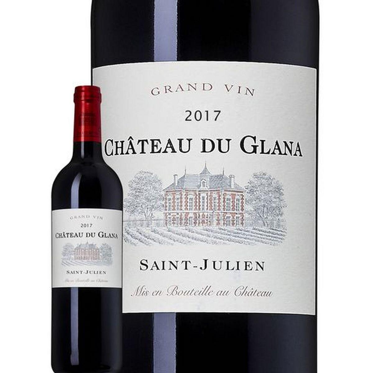 AOP Saint-Julien Château du Glana rouge 2017
