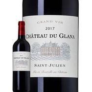 SANS MARQUE AOP Saint-Julien Château du Glana rouge 2017