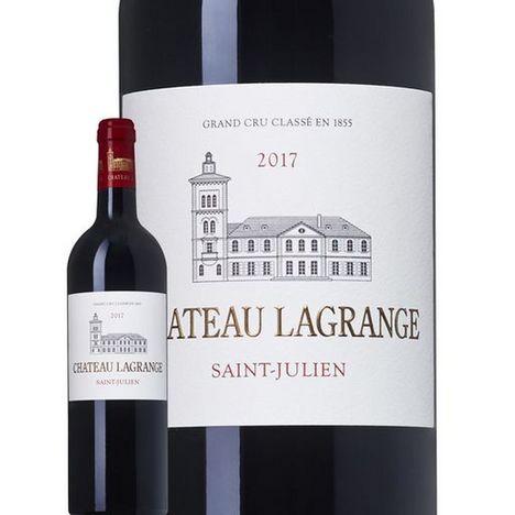 SANS MARQUE AOP Saint-Julien Château Lagrange grand cru classé rouge 2017