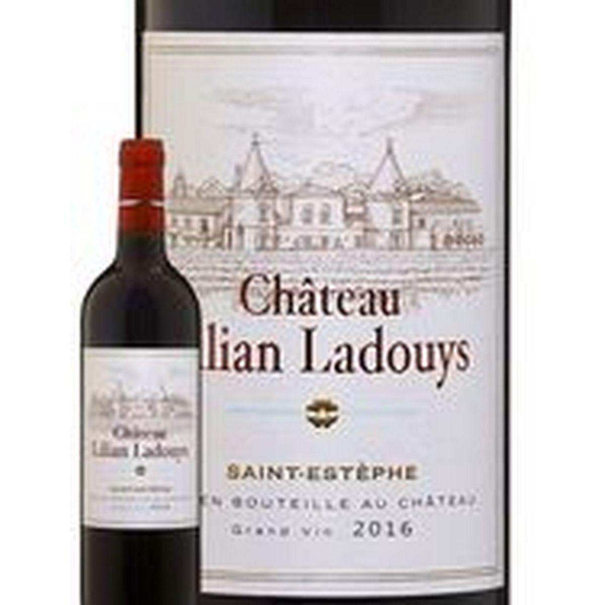 AOP Saint Estèphe Château Lilian Ladouys Cru Bourgeois rouge 2016